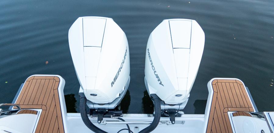 Mercury Engines Boat