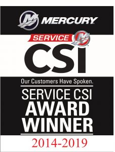 CSI Mercury Service Award